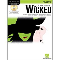 Hal Leonard Wicked for Flute Book/CD