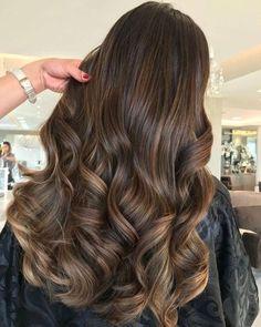 Brown Hair Shades, Brown Ombre Hair, Brown Hair Balayage, Ombre Hair Color, Light Brown Hair, Brown Hair Colors, Hair Highlights, Balayage Hair Brunette Caramel, Chocolate Brown Hair