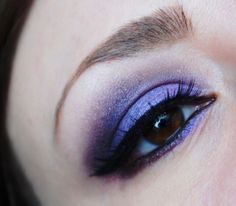 Perfectly Purple Make Up Look featuring Kat Von D Poetica Palette