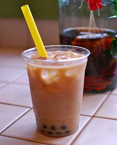 Food Friday: Homemade Bubble Tea!   Never a Dull Moment