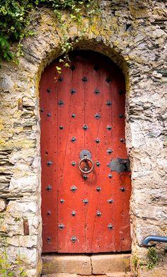 Door in Braunfels, Hesse, Germany.