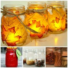 Fun Fall Mason Jar Ideas