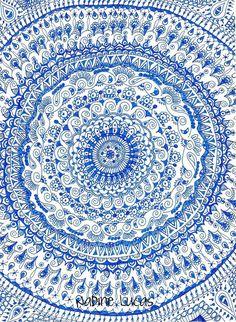 Meditation in Blue | Flickr - Photo Sharing!
