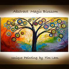 abstract tree