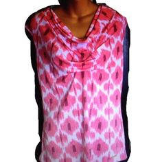 Michael Kors pink sleeveless scoop neck top Michael Kors pink scoop neck sleeveless top. May have been worn one time. Like new condition Michael Kors Tops
