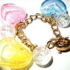 SALE : Rainbow Bubble Charm Bracelet