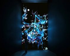seven digital experiences by teamlab surround viewers at pace gallery