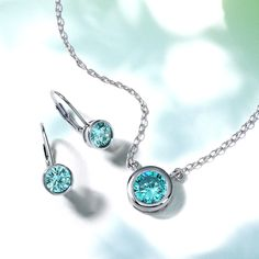 Find your true blue when you shop March birthstone jewelry - Aquamarine! Shop Bling Jewelry ✨