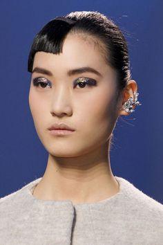 Fall 2013 Makeup Trends - The Best Makeup Looks From Fall 2013 Fashion Week - Harper's BAZAAR - Glittery Eyes