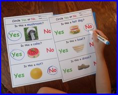 """Read More About """"Fantastic resource for my autistic students. I have found it very helpful particularly for my echolalic students who will usually answer the question with 'yes or no'. This gives them a very good pro. Autism Activities, Autism Resources, Language Activities, Classroom Activities, Teaching Resources, Teaching Ideas, Classroom Ideas, Autism Classroom, Special Education Classroom"""