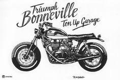 Triumph Bonneville by antocimots