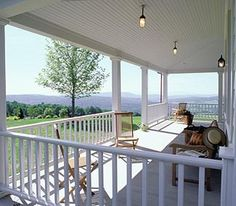 would love a porch like this