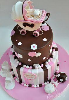 Dulces Encantados. Cookies And cakes: Paso a paso como hacer un Cochecito de Bebé