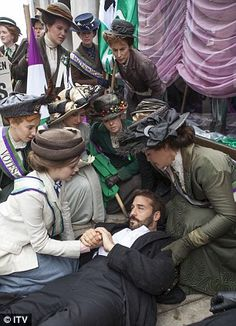 Devoted: Mr Selfridge always found time to pursue pleasure and was known to have a series of affairs