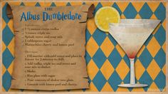 For Harry Potter's birthday, cast a banishing charm on butterbeer in favor of something a little more grownup. Potion Harry Potter, Harry Potter Cocktails, Harry Potter Food, Harry Potter Wedding, Harry Potter Theme, Harry Potter Birthday, Disney Drinks, Fun Drinks, Alcoholic Drinks