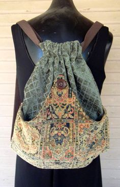 PatchworkTapestry+Backpack+Boho+Backpack++by+piperscrossing,+$45.00