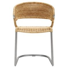 Check out this item at One Kings Lane! Rosalie Rattan Chair, Straw