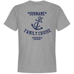 Family cruise | Custom tee shirt for the family cruise.