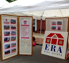 Our ERA Central Realty Group displayed featured House Listings and had a fun bean bag toss with lots of fun giveaways and free popcorn!