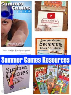 Summer Games Resources - favorites for learning and fun!