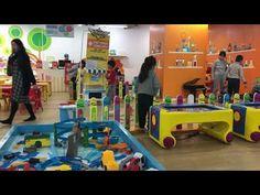 Nhà Bóng - Đồ chơi ô tô - Quả bóng tròn - Playground For Kids