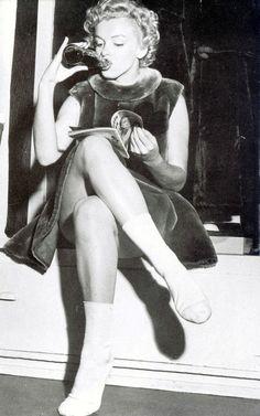Marilyn Monroe, 1952.