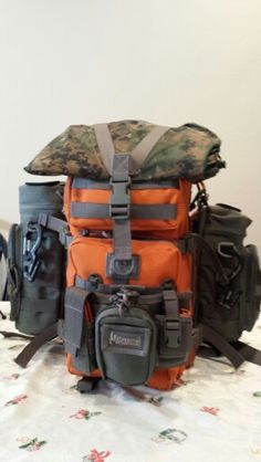 Get home bag for car, maxpedition falcon 2