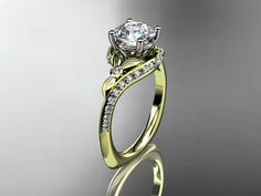 Hey, I found this really awesome Etsy listing at http://www.etsy.com/listing/97947970/14kt-yellow-gold-diamond-leaf-and-vine