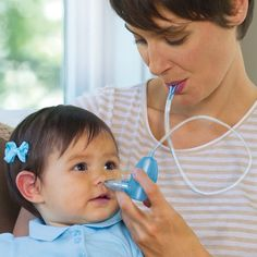 BabyComfy Nose Nasal Aspirator- looks gross but is a brilliant invention!! WAY easier than those bulb aspirators!