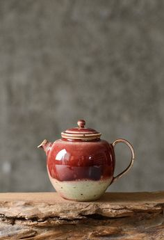 home accessories handmade Excited to share this item from my shop: Handmade ceramic teapot vintage style w unique red glaze, handmade designer pottery Zen style teapot, handcrafted minimalist teapot red Home Decor Shelves, Red Home Decor, Ceramic Teapots, Ceramic Cups, Copper Tea Kettle, Types Of Ceramics, Tea Canisters, Tea Cup Set, Elements Of Design