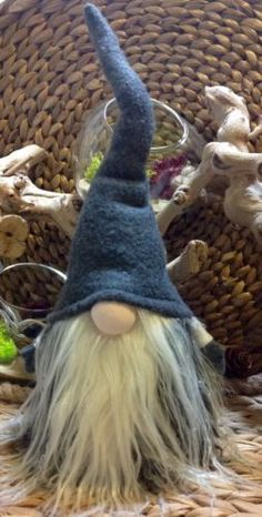 Swedish-Norwegian-Tomte-Nisse-Gnome-Santa-Elf-all-yr-round-Christmas-Decoration