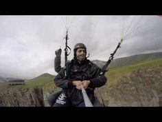 005619 paragliding полет гудаури skyatlantida com gadauriparagliding com...