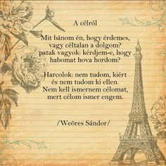 Weöres Sándor: A célról Poetry Quotes, Favorite Quotes, Einstein, Vintage World Maps, Literature, Poems, Thoughts, Motivation, Frases