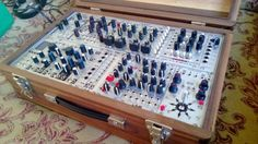 MATRIXSYNTH: Complete Eurorack Modular Synthesizer in Horsman Wood Case