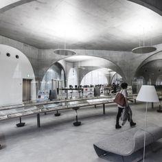 TAMA Art University Library by Toyo Ito Architects Hachioji City, Tokyo, Japan