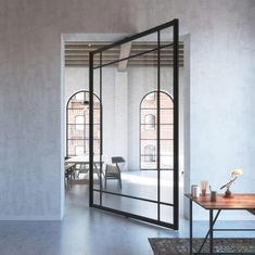 PORTAPIVOT 6530 XL | BLACK ANODIZED - Designer Glass partitions from PortaPivot ✓ all information ✓ high-resolution images ✓ CADs ✓ catalogues ✓..