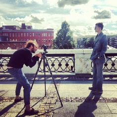 Shooting Independent in Moscow, Russia