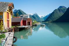 Covering the western coast of the country, Norway's Scenic Routes combine sightseeing with exciting activities. Famous Waterfalls, Norway Fjords, Alesund, Western Coast, Norway Travel, Travel Europe, Destinations, Visit Norway, World Heritage Sites