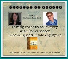 http://www.blogtalkradio.com/creatingcalmnetwork1/2014/03/27/giving-voice-to-your-story-with-dorit-sasson