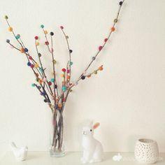 DIY ramas arcoiris by Wayaiu, via Flickr