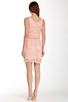 As U Wish | Sleeveless Lace Popover Dress | Nordstrom Rack