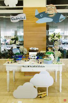 Festa Aviador Aviator party decoration