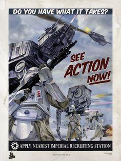 Star Wars ~ propaganda poster