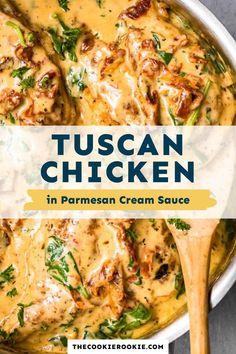 Baked Chicken Recipes, Crockpot Recipes, Soup Recipes, Cooking Recipes, Tuscan Recipes, Cream Sauce Recipes, Kitchen Recipes, Turkey Recipes, Recipies