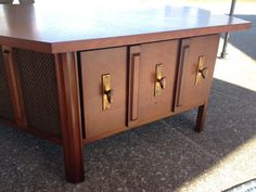 Midcentury Modern Drexel Stereo Console/ coffee table record player 1960s Mad Men on Etsy, $425.00