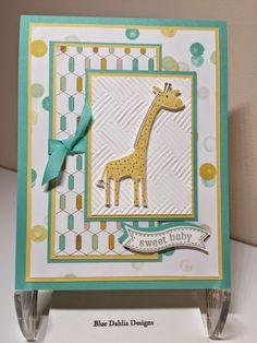 Blue Dahlia Designs: Baby Card for Nikki