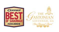 The Gastonian wins 2015 Best of Savannah! Downtown Savannah, Savannah Chat, Bed And Breakfast, Blog, Blogging