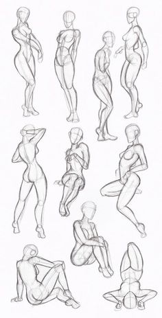 Copy's and Studies:  Kate-FoX fem body's by WonderingMind23.deviantart.com on @DeviantArt