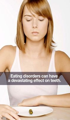 According to the American Dental Association nearly 10 million Americans are affected by serious eating disorders such as binge eating, bulimia, and anorexia. These disorders have dangerous health consequences and harm your teeth and gums. #EatingDisorders #AnorexiaNervosa #Bulimia