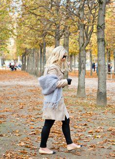 Trench coat, Zara / scarf, Balmuir / denim, Zara / shoes,  Chanel // In my ballerines